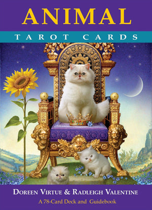 Animal Tarot Cards: A 78-card Deck and Guidebook || Doreen Virtue