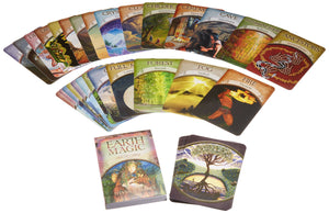 Earth Magic Oracle Cards: A 48-Card Deck and Guidebook || Steven D. Farmer