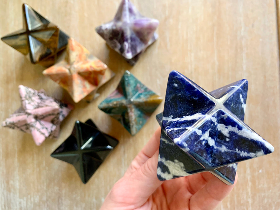 Crystal Merkaba || Large