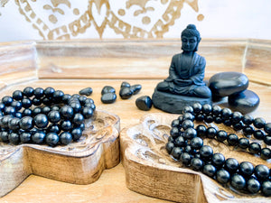 Shungite Bracelet || Reiki Infused