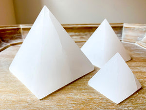 Selenite Pyramid