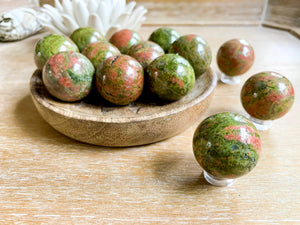 Unakite Sphere || Mini