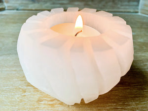 Selenite Vase Candle Holder
