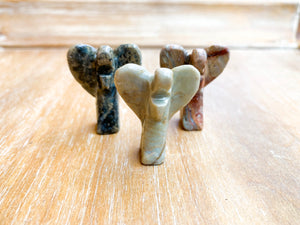 Soapstone Animal Critters Angel