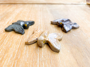 Soapstone Animal Critters Butterfly