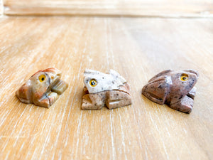 Soapstone Animal Critters Frog