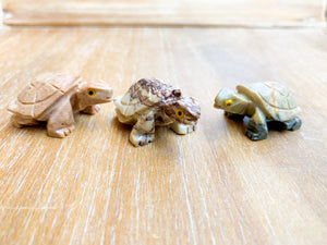 Soapstone Animal Critters Turtle