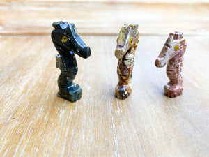 Soapstone Animal Critters Seahorse