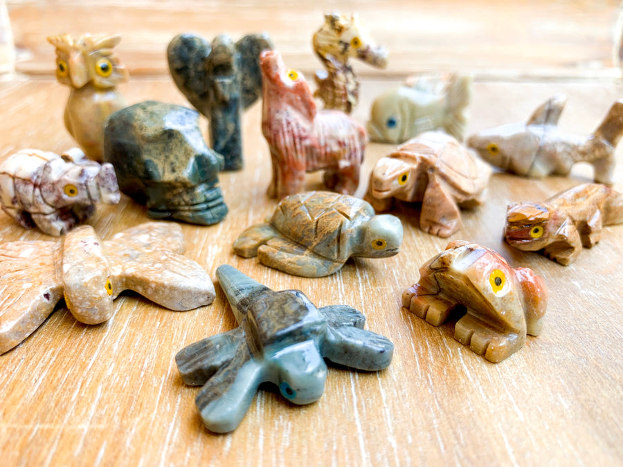 Soapstone Animal Critters