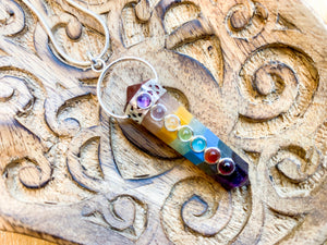 Chakra Point Necklace || Hoop