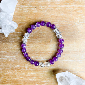 Angel Wing Intention Bracelet || Reiki Infused
