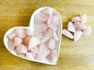 Rose Quartz Tumbled Stone Small