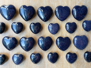 Blue Sandstone Heart