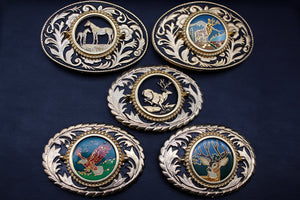 Vintage Wildlife Belt Buckle