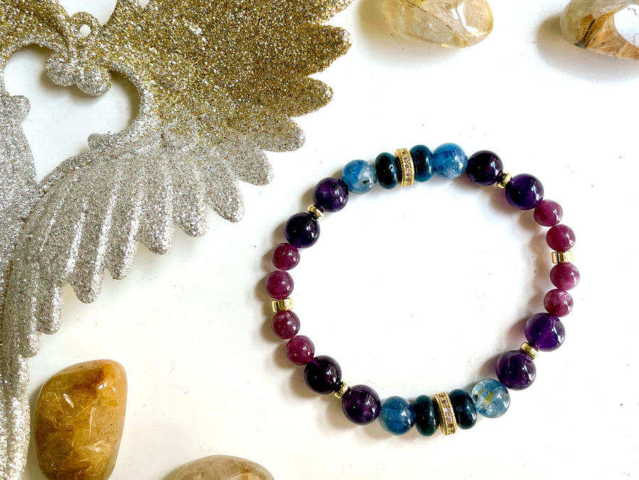 Connecting with Archangels || Archangel Micheal || Apatite, Kyanite, Amethyst & Lepidolite