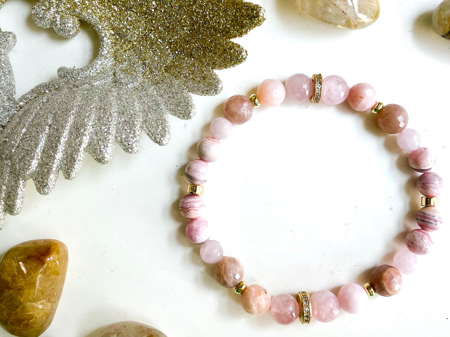 Connecting with Archangels || Archangel Ariel || Rose Quartz, Rhodochrosite, Pink Opal & Peach Moonstone