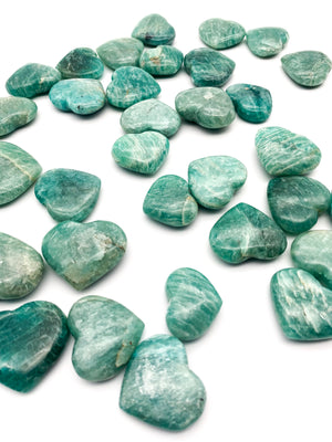 Amazonite Crystal Heart