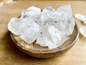 Ice (Clear) Calcite Rough Tumbled Stone