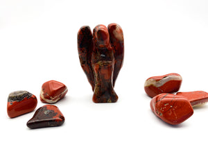 Red Jasper Crystal Angel