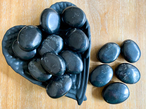 Shungite Palm Stone