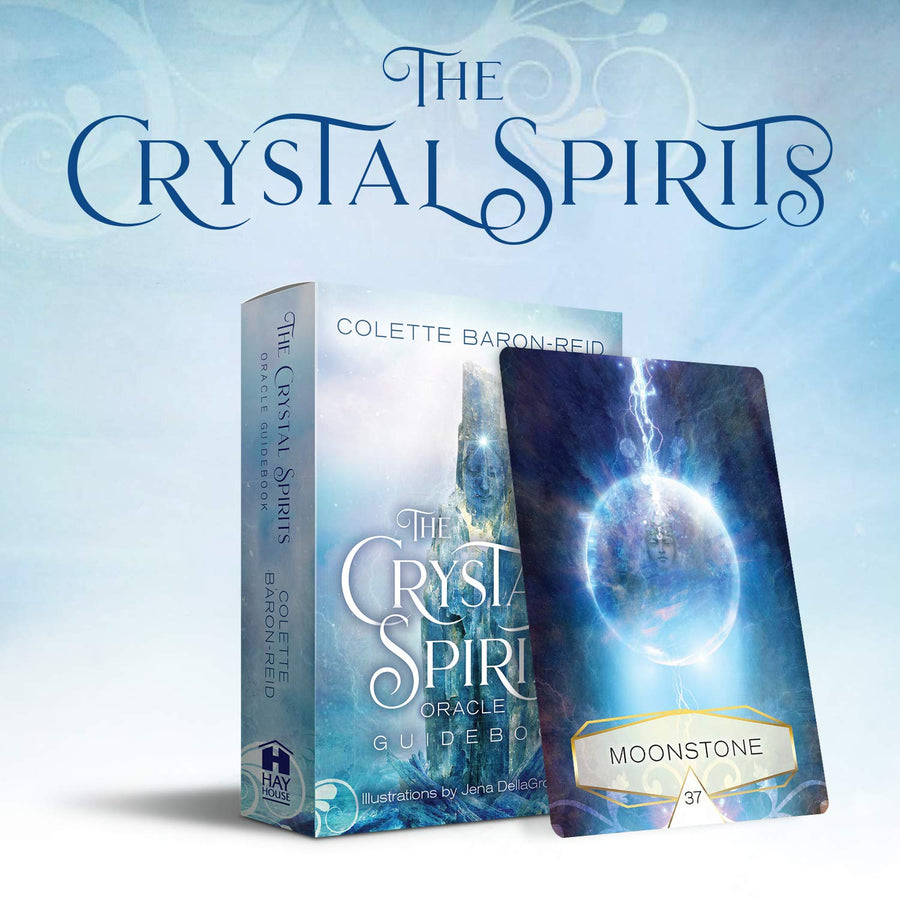 The Crystal Spirit Oracle Cards & Guidebook || Colette Baron-Reid