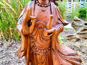 Guanyin Wood Carving
