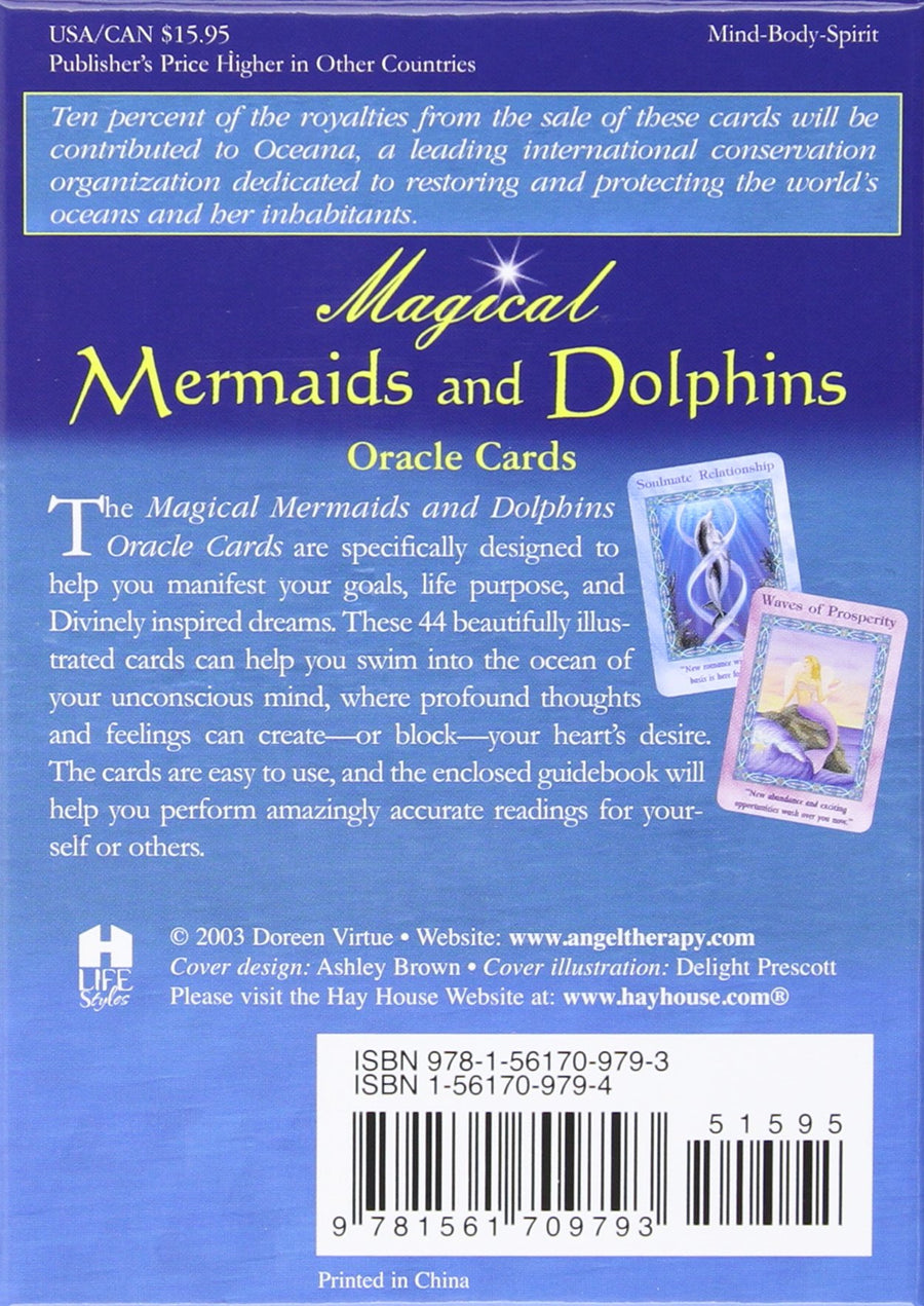 Magical Mermaids & Dolphins Oracle Cards & Guidebook || Doreen Virtue