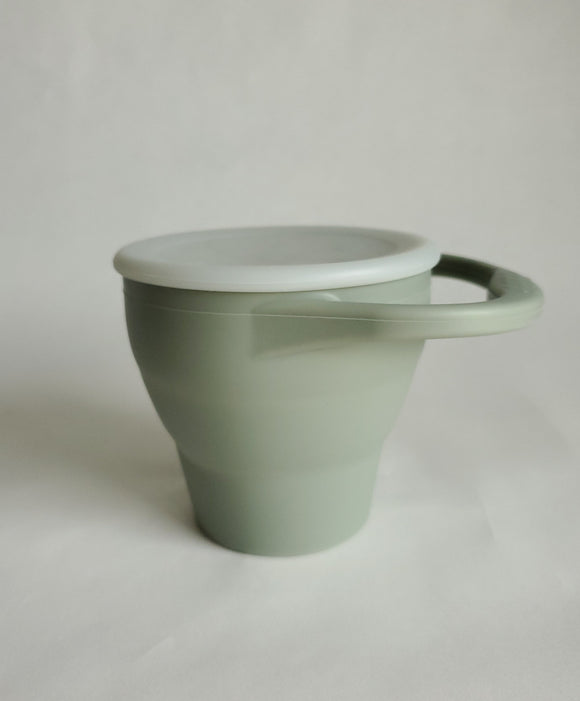 Silicone Snack Cup- Sage