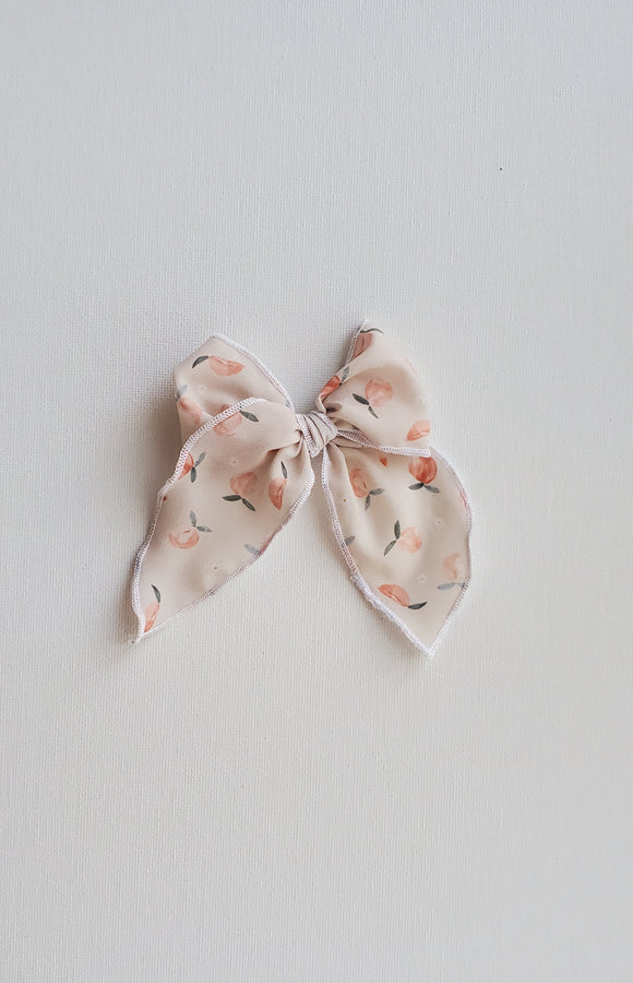 Midi Emery Bow- Just Peachy