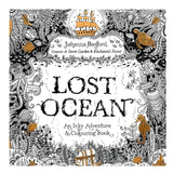 Lost Ocean Edition Coloring Book (24 pages)
