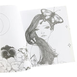 Korea Dream Girl Coloring Book (96 pages)