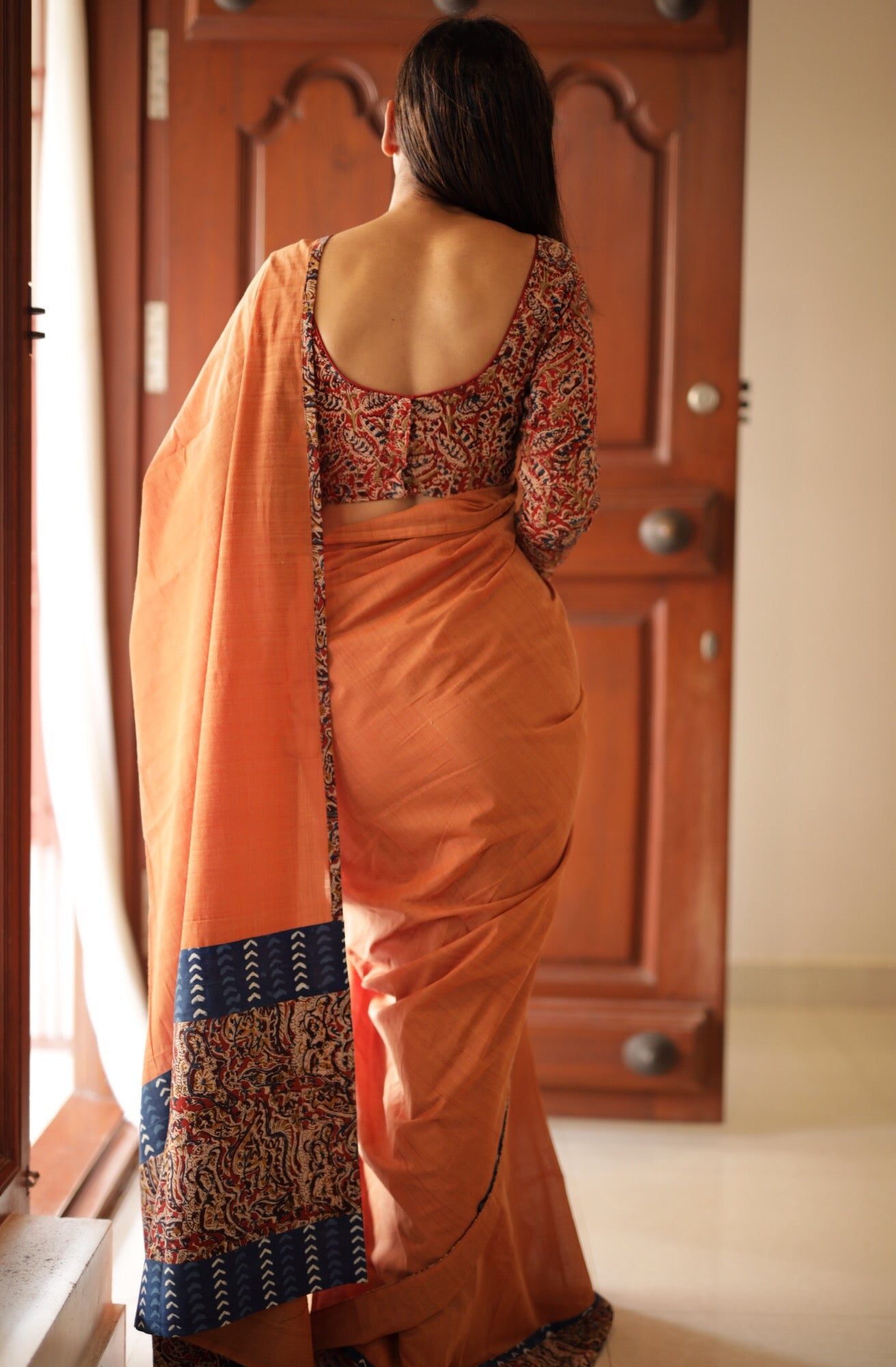Orange | Kalamkari