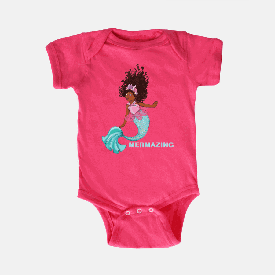 MERMAID BABY ONE PIECE