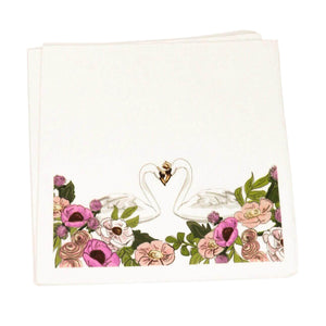 PRINCESS SWAN LAKE DINNER NAPKINS