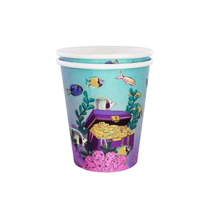MERMAID UNDER THE SEA CUPS