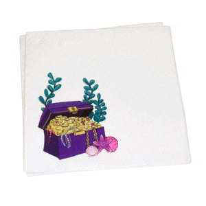 MERMAID UNDER THE SEA DINNER NAPKINS