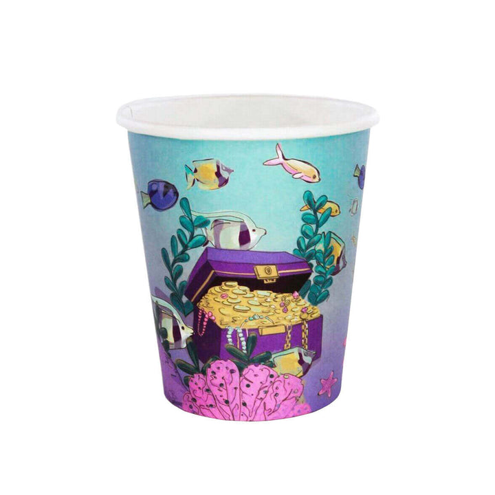 UNDER THE SEA MERMAID CUPS