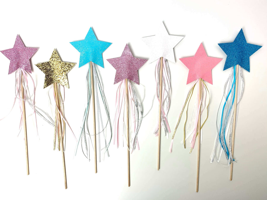 SPARKLY PRINCESS WANDS