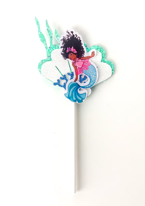 MERMAID UNDER THE SEA CUPCAKE TOPPERS