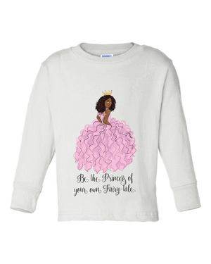 PRINCESS SWAN LAKE LONG SLEEVE TEE (YOUTH)