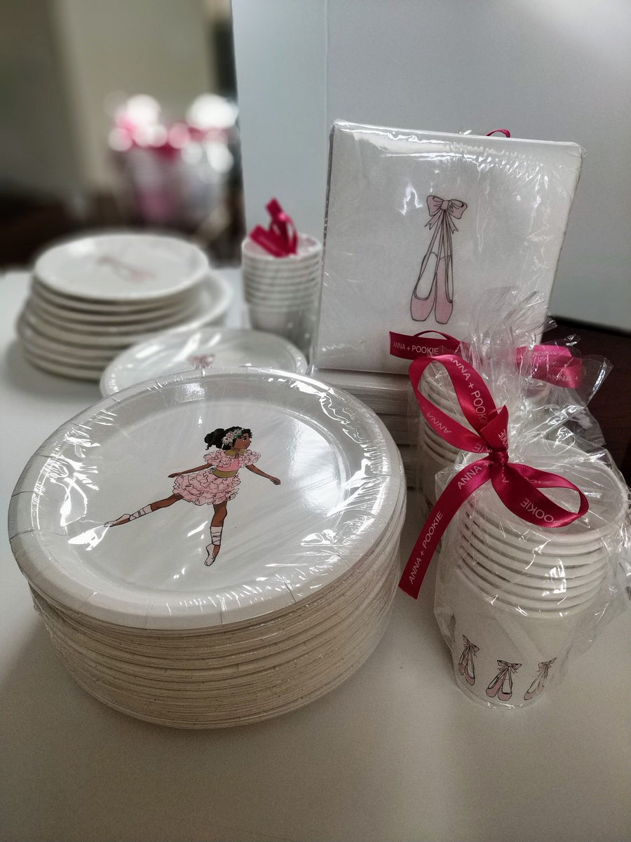 BALLERINA GIRL LARGE PLATES