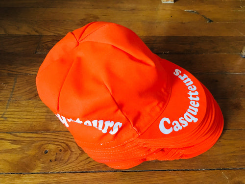 Casquetteurs orange
