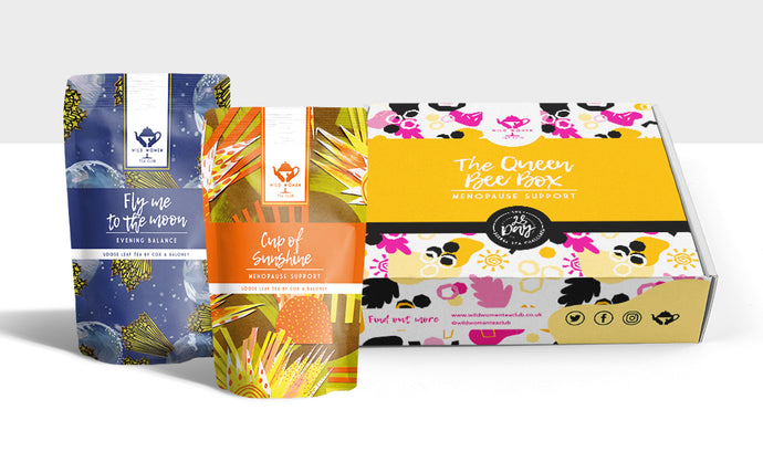 Sample Taster Box MENOPAUSE Support Tea Box - The Queen Bee