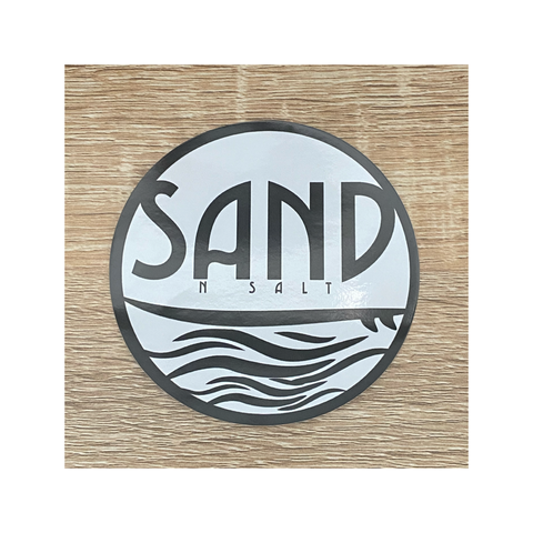 SAND N SALT STICKER 10cm