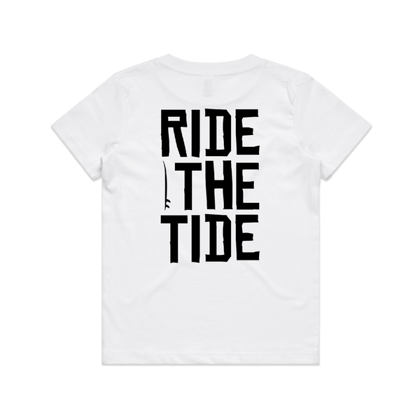 Ride the tide basic tee