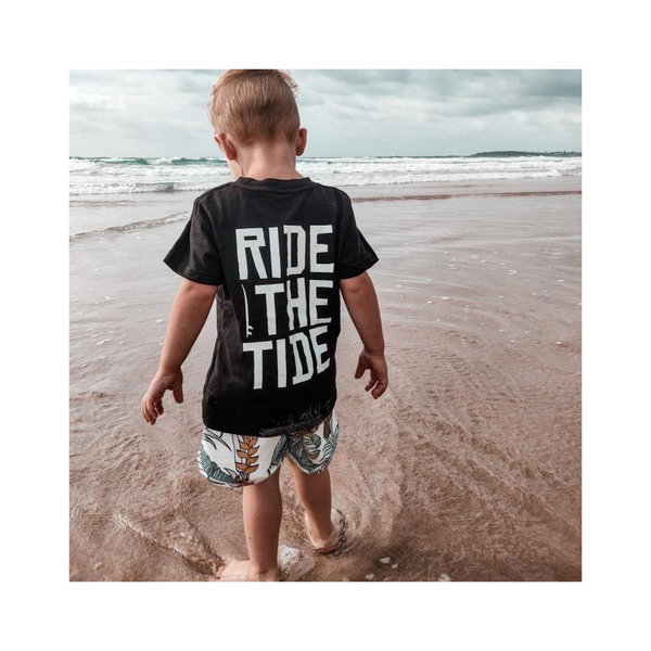 Kids surf skate clothing from groms  Toddlers kids fashion adults grom little grom handmade affordable kids fashion Women's fashion men's surf clothes women's beach clothes women's surf clothes kids surf clothes kids beach clothes kids skate clothes kids skate tee kids surf tshirt  ride the tide