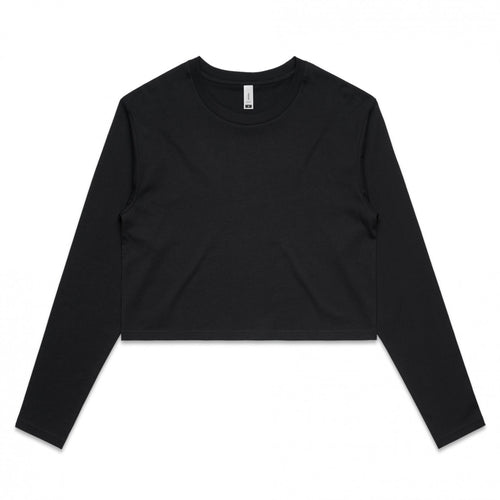 Women's long sleeve crop basic