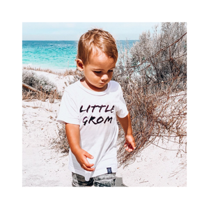 Little Grom basic tee