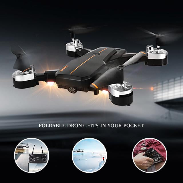 (60% OFF Today)Best Foldable Drone With 1080p HD Camera