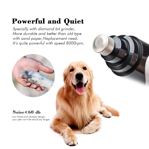 (50% OFF Today)Upgraded Pet-Nail Grinder